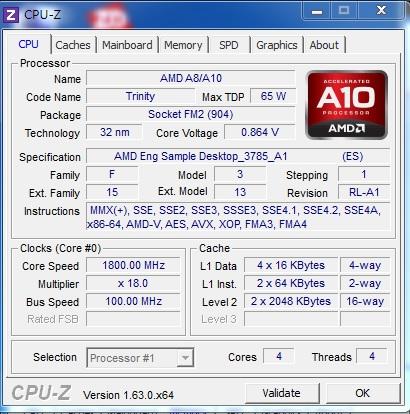 AMD Richland A10-6700