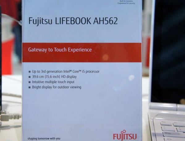 Fujitsu LifeBook AH562