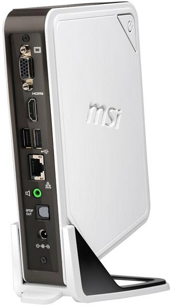 Мини-ПК MSI Wind Box DC110 поставляется с предустановленной ОС Windows 8