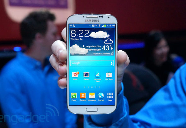 �� ������ LG, � ��������� Samsung Galaxy S 4 ������� ������ �� ���������� �������� �� ������������ �������