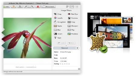Скриншот программы JAlbum