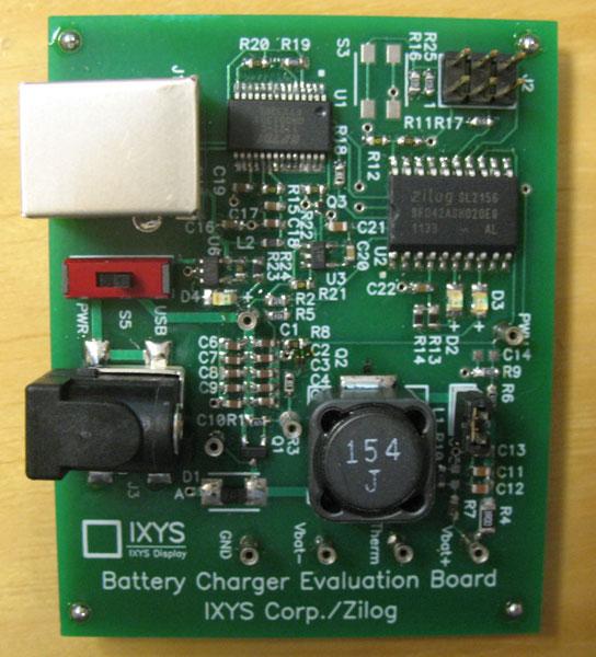 В числе достоинств зарядного устройства на микроконтроллере Zilog Z8F042A разработчик отмечает его низкую стоимость