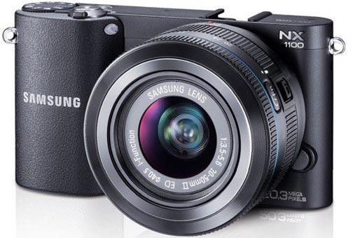 Данных о сроке выпуска и цене камеры Samsung NX1100 пока нет