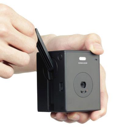 Цифровой камере SunCloud не нужна розетка для подзарядки батареи