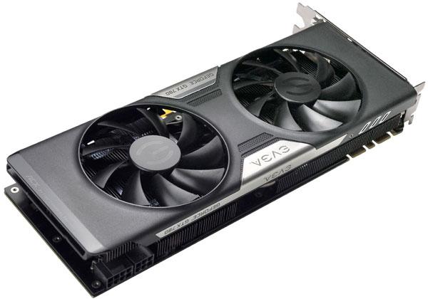 � ���������� 3D-����� EVGA GeForce GTX 780 ������������ ����������� � �������� ������������ �������