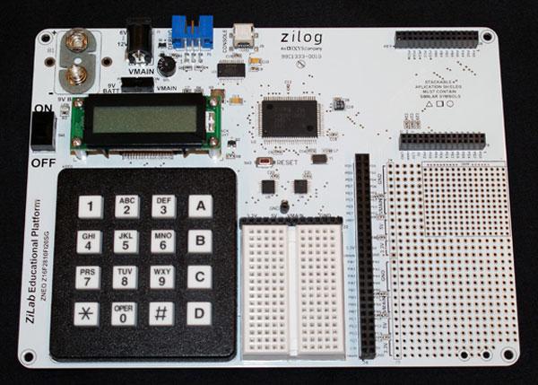 Платформа Zilog ZED предназначена для школ и других учебных заведений