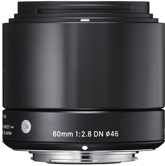 Объектив Sigma 60mm F2.8 DN предназначен для беззеркальных камер