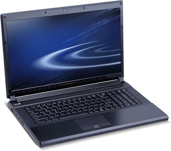 Ноутбук Rain Computers LiveBook V позиционируется как инструмент видеопроизводства