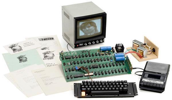 Apple 1, раритет компьютерной эры, достался анонимному покупателю