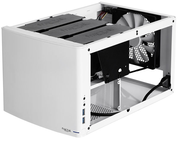 ������ Fractal Design Node 304 ��������� 250 � 210 � 374 �� ��������� �� ����� ����������� Mini-ITX � DTX