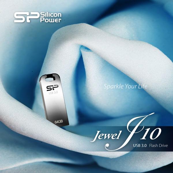 ������������ ������ ����������� ���������� SP/Silicon Power Jewel J10 �������� 8, 16, 32 � 64 ��