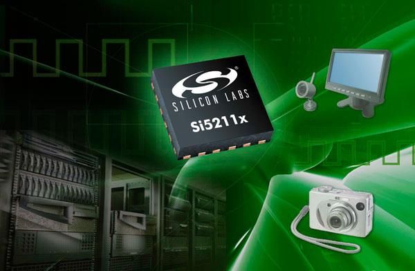 Микросхемы Silicon Labs Si52111 и Si52112 предназначены для потребительской электроники, встраиваемых систем, коммуникационного оборудования, серверов и хранилищ