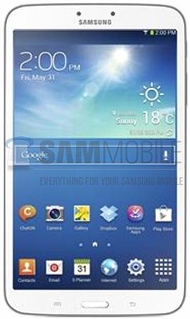 Первое изображение Samsung Galaxy Tab 3 8.0