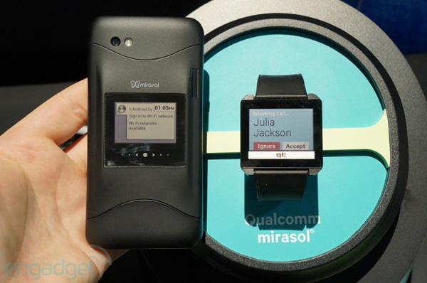Qualcomm Mirasol с экраном диагональю 1,6 дюйма