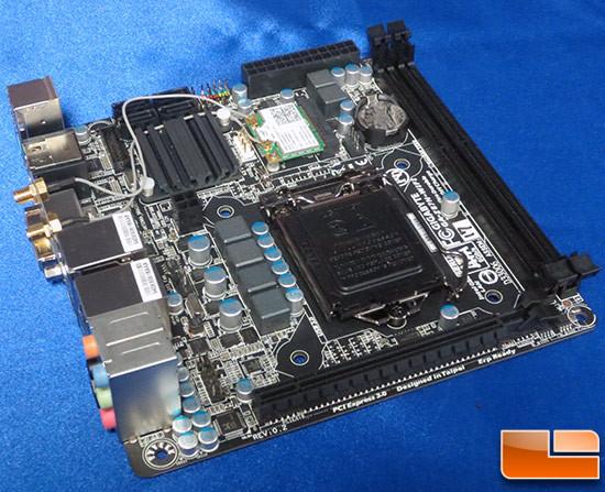 Плата Gigabyte Z87N-WiFi рассчитана на процессоры Intel Core четвертого поколения (Haswell)