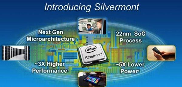Представлена микроархитектура Intel Silvermont
