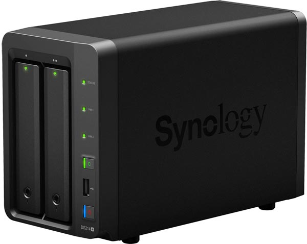 NAS Synology DS214+ � ����� �������� ��� ����������� ������������ �� ��������� �����������
