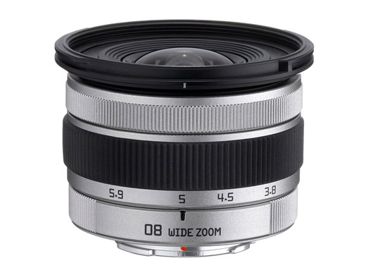 Масса объектива Pentax-08 Wide Zoom — 75 г