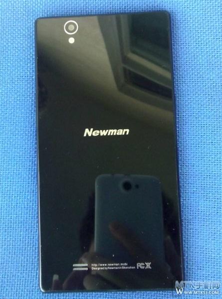 Толщина корпуса смартфона Newman K18, напоминающего Sony Xperia Z, составляет 6,17 мм