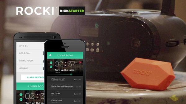 Чтобы подключиться к Rocki и организовать передачу, на мобильном устройстве используется специальное приложение