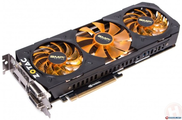 Zotac GeForce GTX 780 Ti Amp!