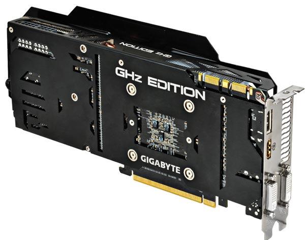 В 3D-карте Gigabyte GTX 780 GHz Edition используется графический процессор GK110 степпинга B1