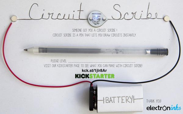 Electroninks собирает средства на выпуск ручек Circuit Scribe