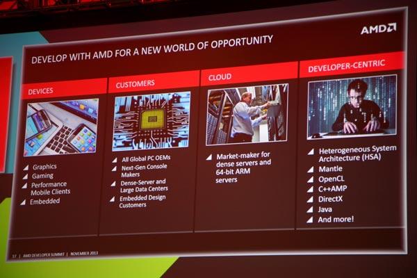 Доклады первого дня AMD APU13 глазами нашего корреспондента — часть первая