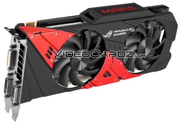 ������� 3D-����� Asus ROG Mars 760 ����� ���� GPU GK104-425