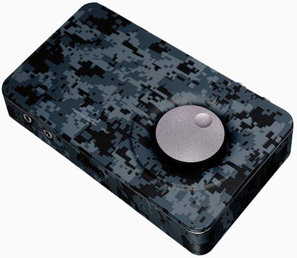 Производитель закамуфлировал внешнюю звуковую карту Asus Xonar U7 Echelon Edition 7.1