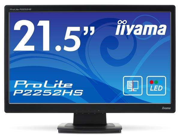 � �������� iiyama ProLite P2252HS ������������ ������ ���� TN