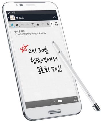 Pantech Vega Secret Note очень популярен в Южной Корее