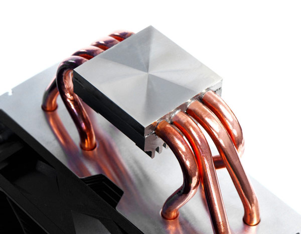 Процессорный охладитель Scythe Kotetsu имеет традиционную компоновку