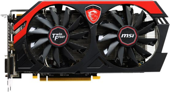 3D-����� MSI R9 270 Gaming 2G �������� �������� ���������� Twin Frozr IV