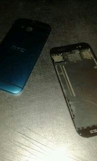 В Сети появились фотографии смартфона под кодовым названием HTC M8