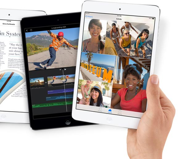 Цены на планшеты Apple iPad mini с дисплеем Retina стартуют с $399