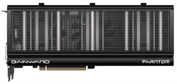 Карта Gainward GeForce GTX 780 Ti Phantom оснащена двумя выходами DVI, одним выходом HDMI и одним выходом DisplayPort