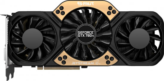 ������ � ���� � ����� ������ ������ 3D-����� Palit GeForce GTX 780 Ti JetStream ������������� �� ��������