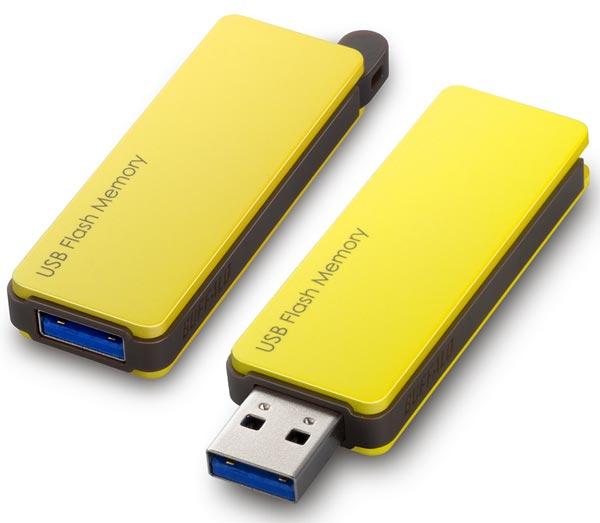 Флэш-накопители Buffalo RUF3-PW с интерфейсом USB 3.0 окрашены в светлые цвета