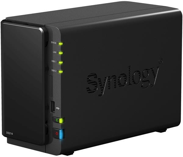 ��������� ��������� Synology DiskStation DS214 �������� ���� Gigabit Ethernet