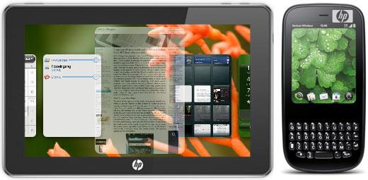 HP патенты WebOS
