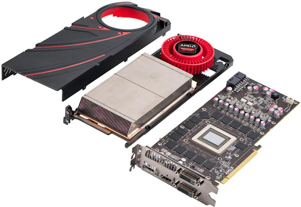 Дан старт продажам 3D-карты AMD Radeon R9 290X