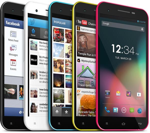 Основой смартфона Blu Studio 5.5 служит четырехъядерный процессор, работающий под управлением Android 4.2 Jelly Bean