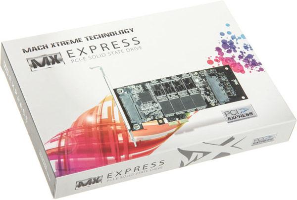 Твердотельные накопители Mach Xtreme Express доступны в четырех вариантах объема: 128, 256, 512 и 1024 ГБ