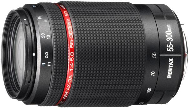 Продажи объектива HD Pentax-DA 55-300mmF4-5.8ED WR должны начаться в ноябре, по цене $450