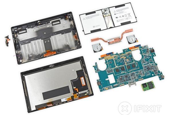 Microsoft Surface Pro 2 iFixit