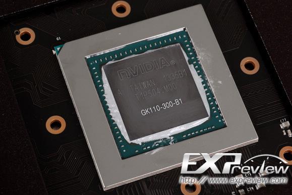 В основе GeForce GTX 780 GHz Edition лежит GPU GK110-300 ревизии B1