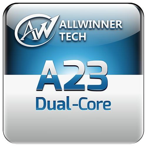 По данным Allwinner, производительность процессора A23 в тесте AnTuTu достигает 15 000