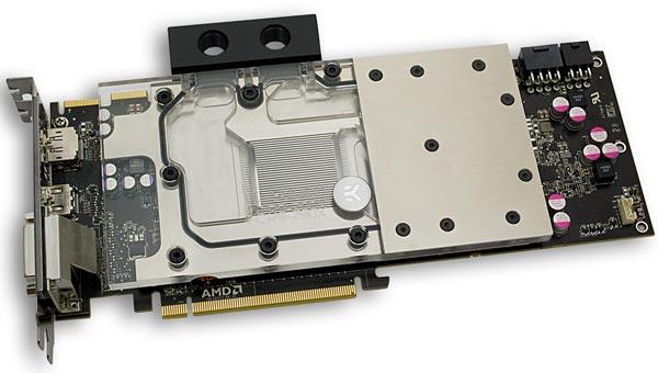 ��������� EK Water Blocks EK-FC R9-290X ������������� ��� 3D-���� AMD Radeon R9 290X ������������ �������