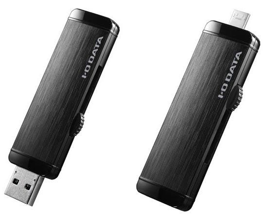 Накопители I-O Data U3-DBL оснащены интерфейсом USB 3.0